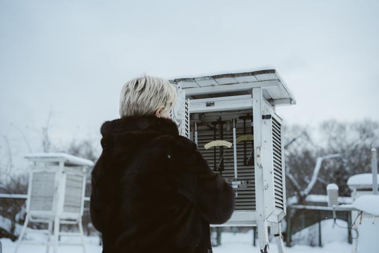 Один день в метеорологической обсерватории МГУ