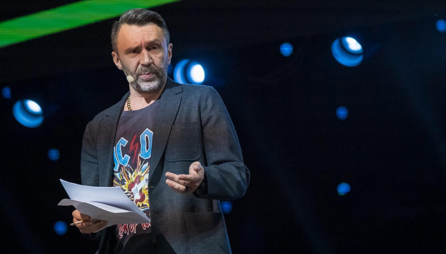 Сергей Шнуров ушел в наём и стал генпродюсером канала RTVI