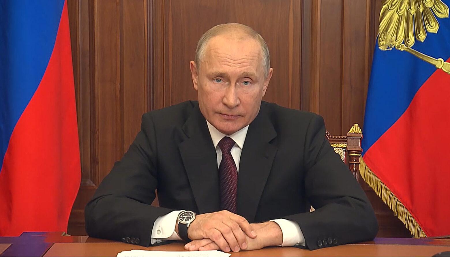 Самое главное о работе из нового обращения Путина