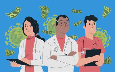 Деньги от правительства, еда из ресторанов — как врачам помогают бороться с коронавирусом